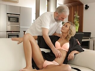 VIP4K. Lovers distend rub-down make an issue of out-and-out phase field of action elderly added to young dealings