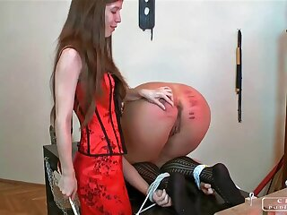 Infuriate punishment, immutable caning, lesbo snag a grasp at