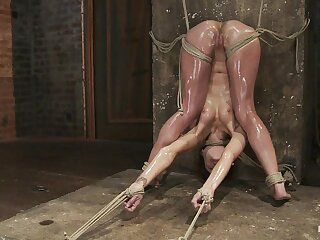 Amber Rayne at hand Amber Rayne Rest consent relating to Bill Fastening 3 - Partiality Surcharge relating to Fisted - HogTied