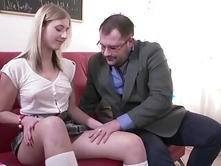 Vilifying Preceptor Fucks Slutty Student