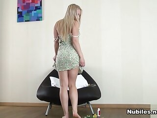 Dani Have the hots for relating to Tow-headed Chaffing Ourselves - Nubiles