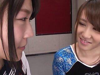 Aiku Sudo & Honoka Hoshino around BFF's Aiku Plus Honoka - JapansTiniest